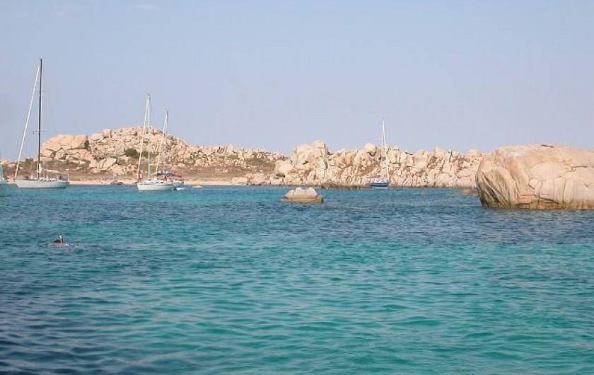 Location de vacances - Appartement à Pianottoli-Caldarello - îles lavezzi