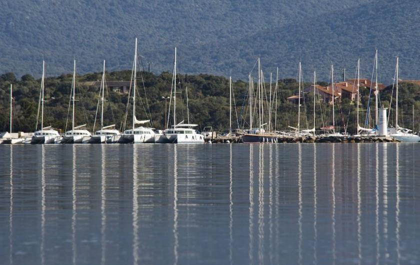 Location de vacances - Appartement à Pianottoli-Caldarello - port de pianottoli à 1 km