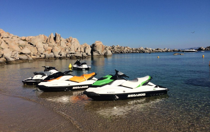 Location de vacances - Appartement à Pianottoli-Caldarello - location jet ski et flyboard pianottoli CJL