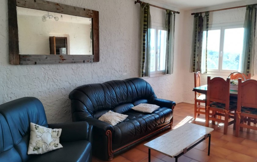 Location de vacances - Appartement à Pianottoli-Caldarello - salon