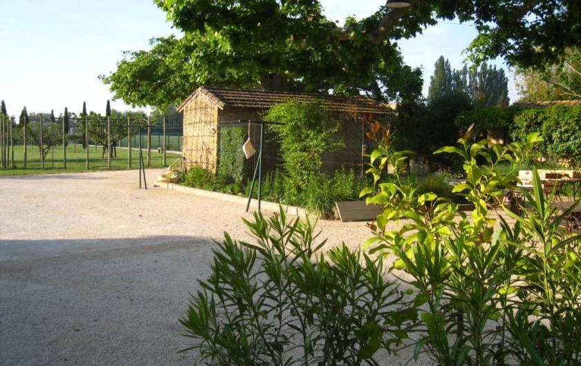 Location de vacances - Mas à Althen-des-Paluds