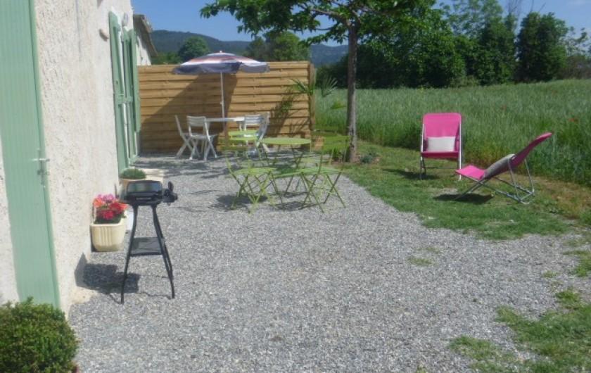 Location de vacances - Gîte à Manosque - Le gite au printemps
