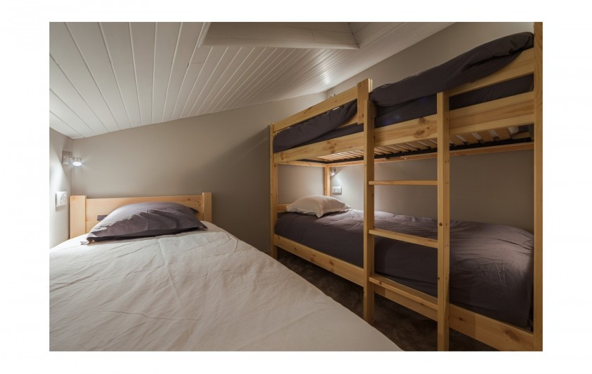 Location de vacances - Appartement à Méribel-Mottaret - Chambre 2