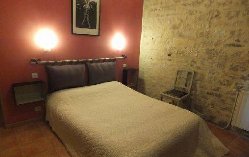 Location de vacances - Gîte à Mechmont - Chambre rose