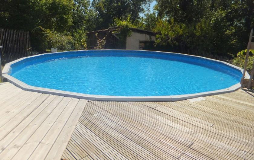 Location de vacances - Gîte à Mechmont - la piscine