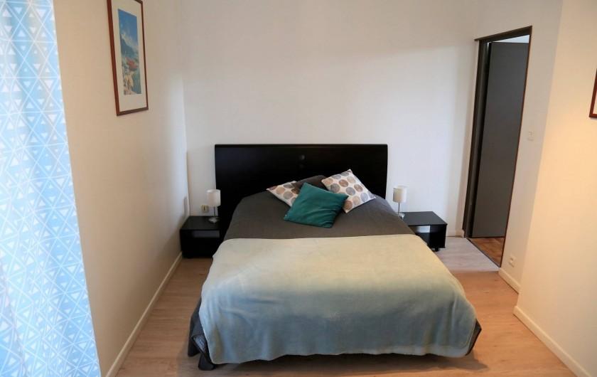 Location de vacances - Villa à Aix-les-Bains - La chambre du RDC 2