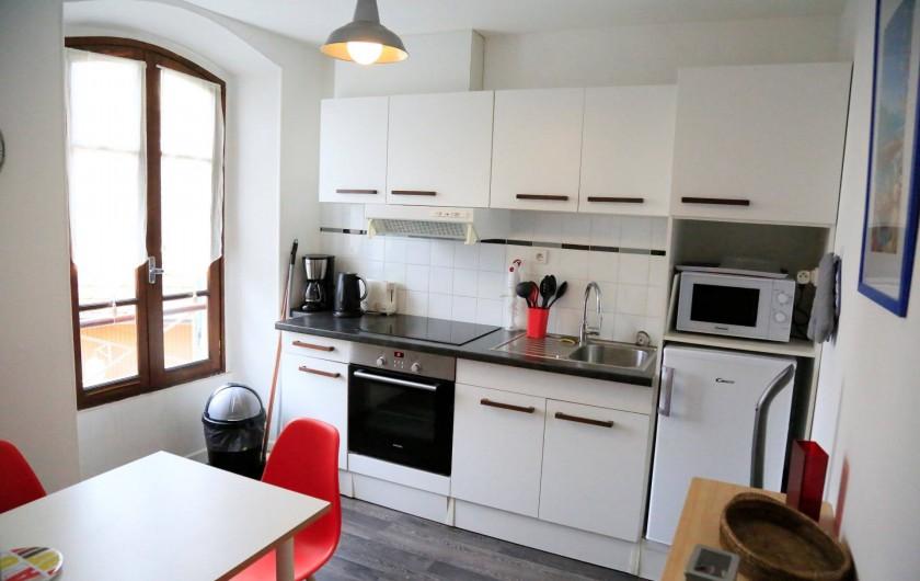 Location de vacances - Villa à Aix-les-Bains - La cuisine du studio 3