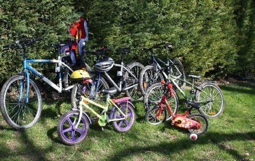 Location de vacances - Gîte à Lafrançaise - A disposition gratuite nos vélos.