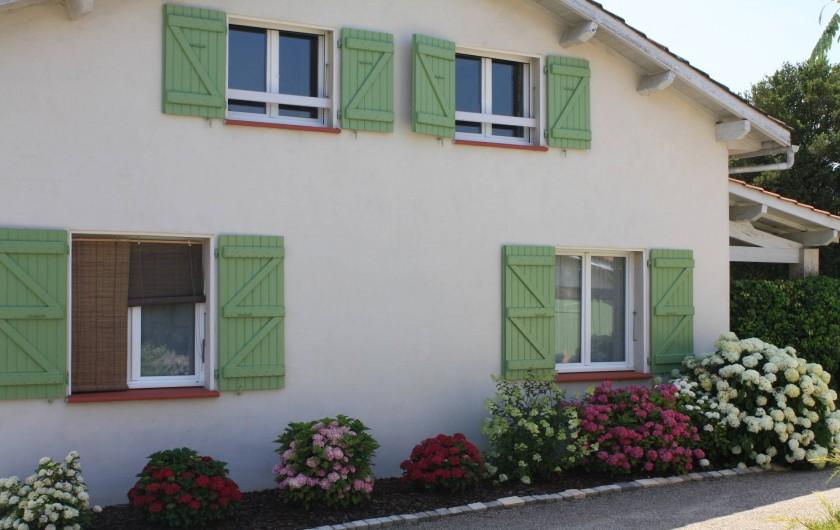 Location de vacances - Gîte à Lafrançaise - Côté Est de votre location