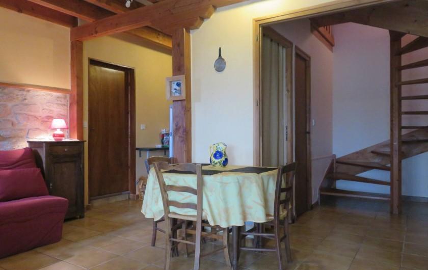 Location de vacances - Maison - Villa à Péret-Bel-Air - Séjour