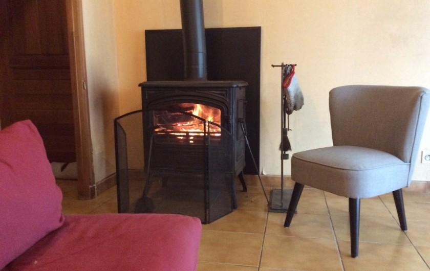 Location de vacances - Maison - Villa à Péret-Bel-Air - Poêle à bois