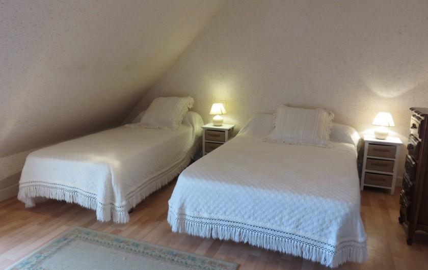 Location de vacances - Maison - Villa à Péret-Bel-Air - Chambre rose