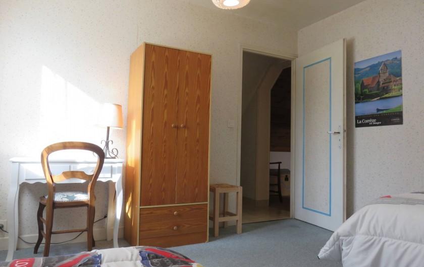 Location de vacances - Maison - Villa à Péret-Bel-Air - Chambre bleue