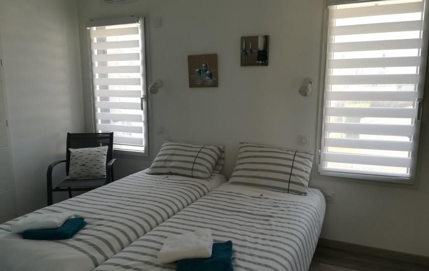 Location de vacances - Villa à Saint-Gilles-Croix-de-Vie - NOTRE CHAMBRE 2