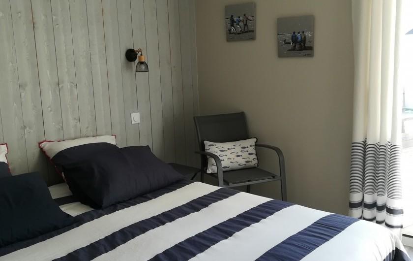 Location de vacances - Villa à Saint-Gilles-Croix-de-Vie - NOTRE CHAMBRE 1