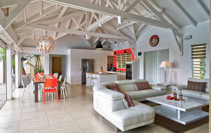 Location de vacances - Villa à Sainte-Anne - vue salon