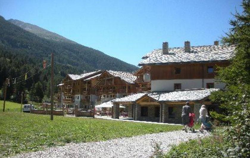 Location de vacances - Appartement à Lanslebourg-Mont-Cenis - La résidence l'été