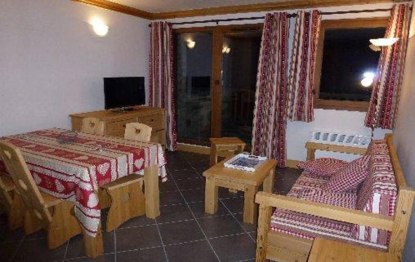 Location de vacances - Appartement à Lanslebourg-Mont-Cenis - Séjour