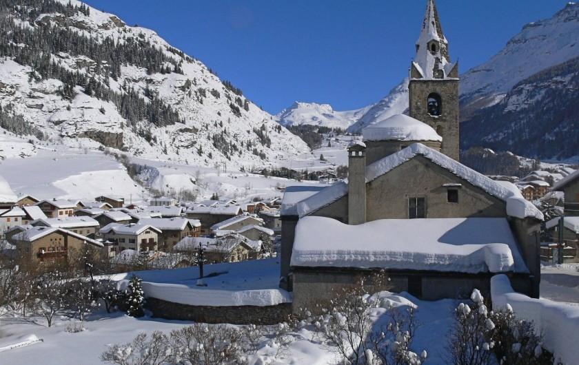 Location de vacances - Appartement à Lanslebourg-Mont-Cenis - Lanslevillard en hiver