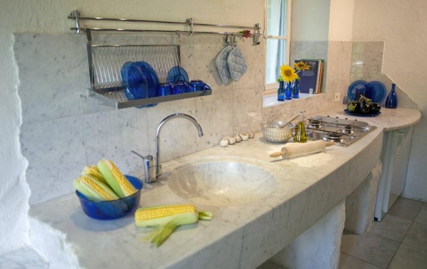 """Location de vacances - Appartement à Castel Rigone - Cuisine appt. """"La Pipo"""" La Rogaia"""