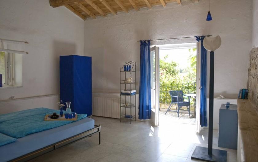 """Location de vacances - Appartement à Castel Rigone - Chambre lit appt. """"La Pipo"""" La Rogaia"""