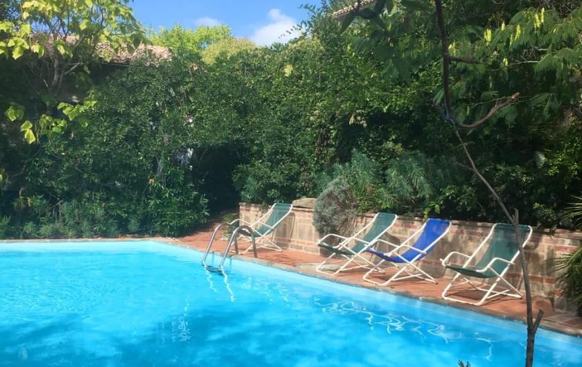 Location de vacances - Appartement à Castel Rigone - Piscine La Rogaia