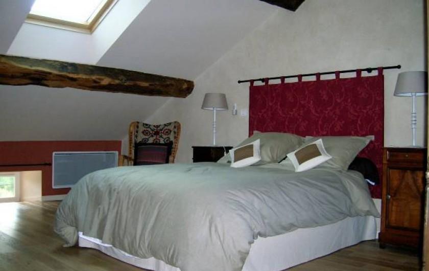Location de vacances - Gîte à Chantraines - Chambre