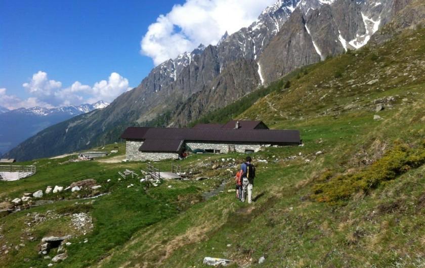 Location de vacances - Appartement à Bionaz - Alpage Berrier