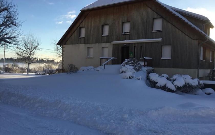 Location de vacances - Gîte à Fournet-Blancheroche - Nos gîtes en hiver