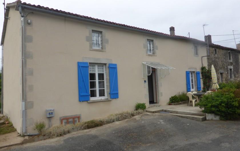 Location de vacances - Maison - Villa à Moncoutant-sur-Sèvre - Coté Salon