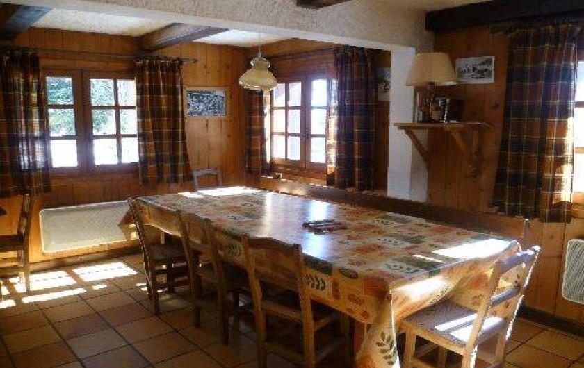 Location de vacances - Chalet à Notre-Dame-de-Bellecombe