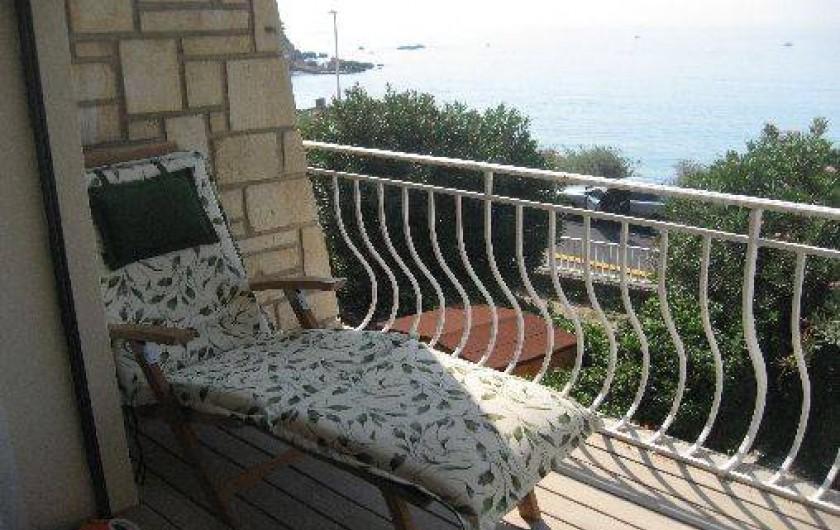 Location de vacances - Appartement à Carry-le-Rouet - balcon sud