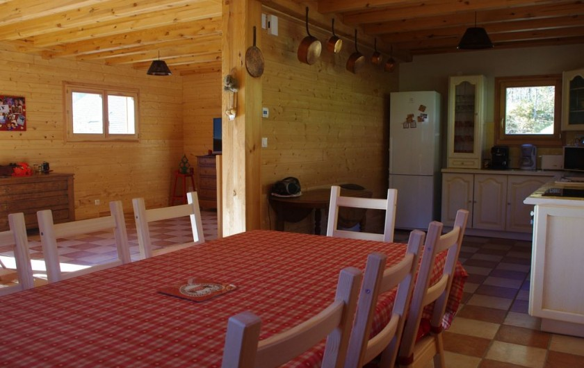 Location de vacances - Chalet à Melon - Salle à manger