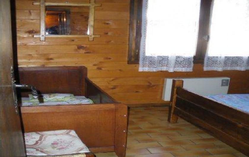 Location de vacances - Chalet à Manigod