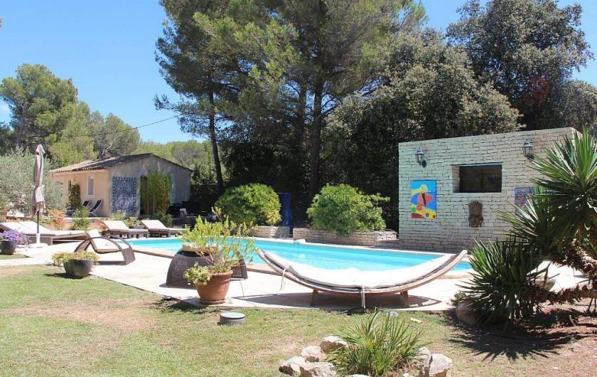 Location de vacances - Studio à Velaux - Vue d'ensemble