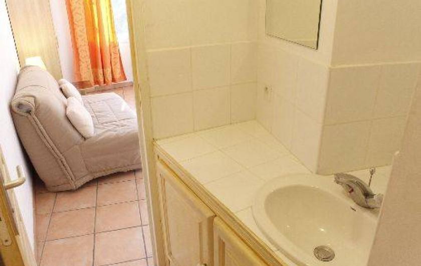 Location de vacances - Studio à Porto-Vecchio - SALLE D EAU