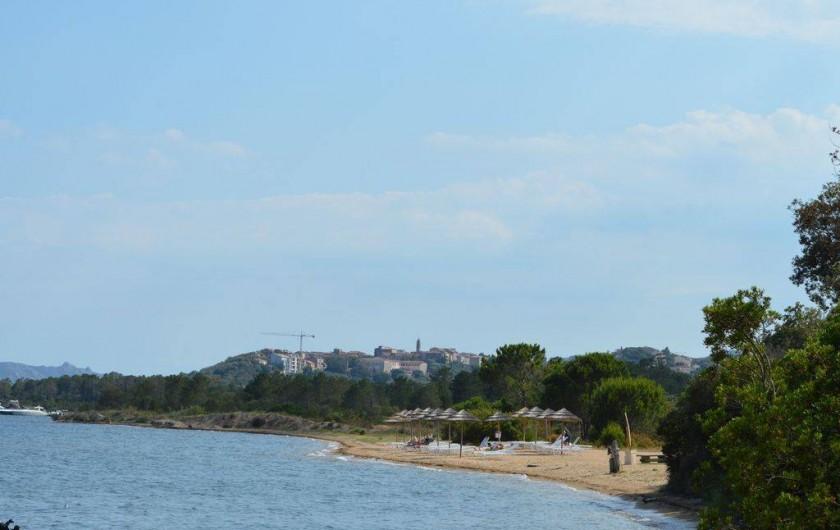 Location de vacances - Studio à Porto-Vecchio - PLAGE ET VUE VIEILLE VILLE