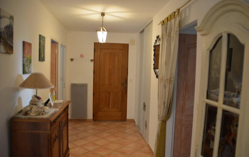 Location de vacances - Villa à Le Puy-Sainte-Réparade - Salon