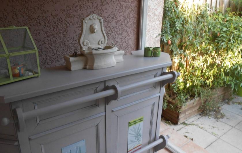 Location de vacances - Villa à Le Puy-Sainte-Réparade - Façade d'entrée