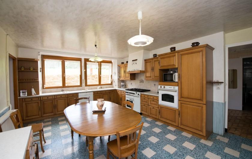 Location de vacances - Gîte à Girondelle - cuisine