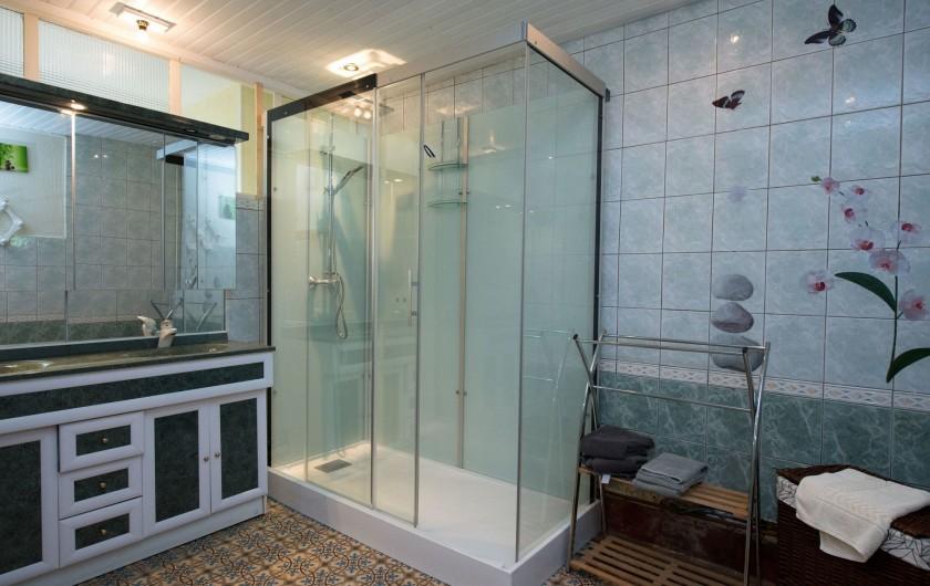 Location de vacances - Gîte à Girondelle - salle d'eau