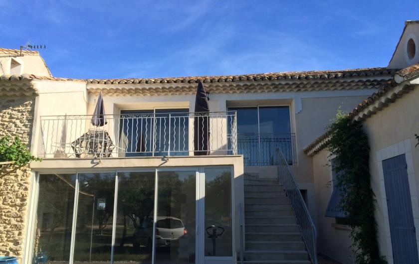 Location de vacances - Appartement à Sarrians - GITE