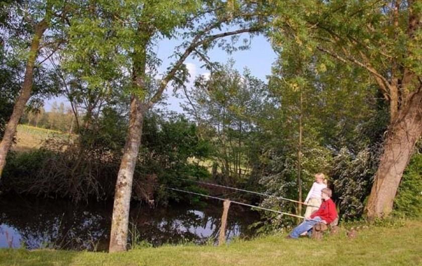 Location de vacances - Gîte à La Jaudonnière - Gîte labellisé pêche avec Pêche au pied du gîte.