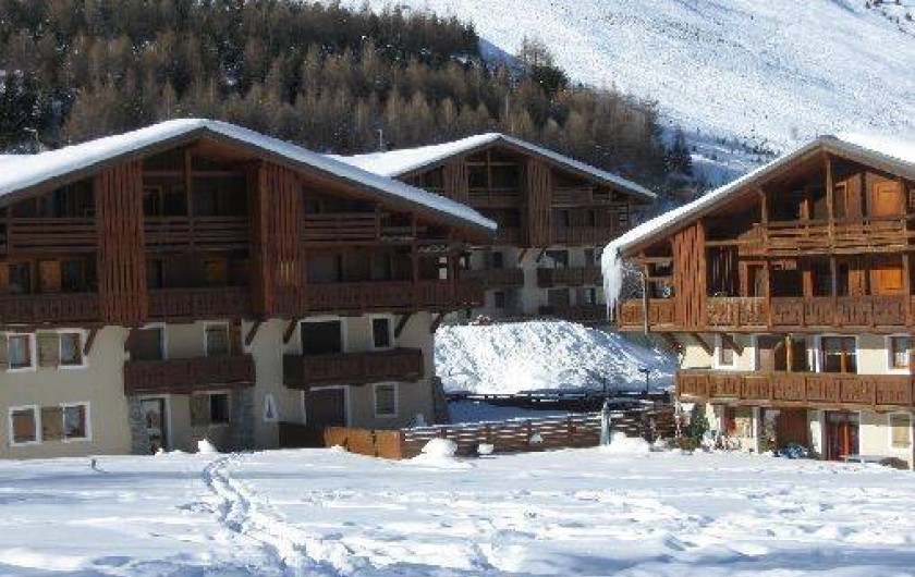 Location de vacances - Appartement à Les Deux Alpes - le chalet