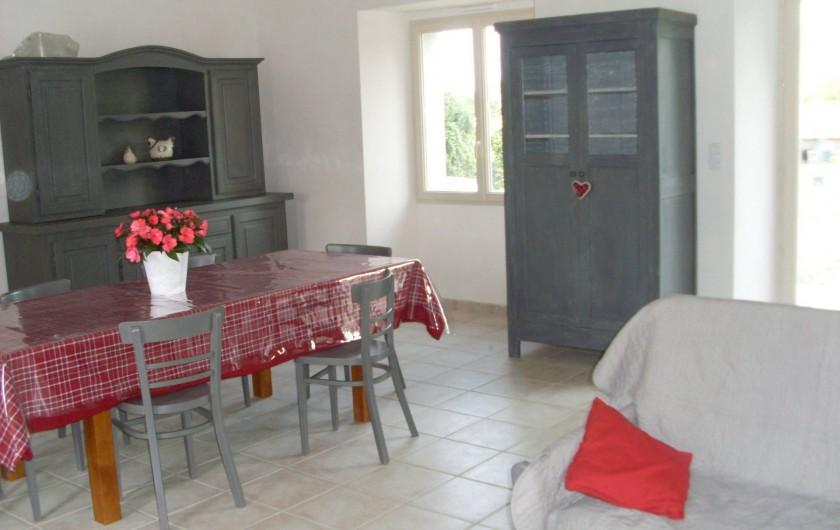 Location de vacances - Gîte à La Garnache - Salle à Manger