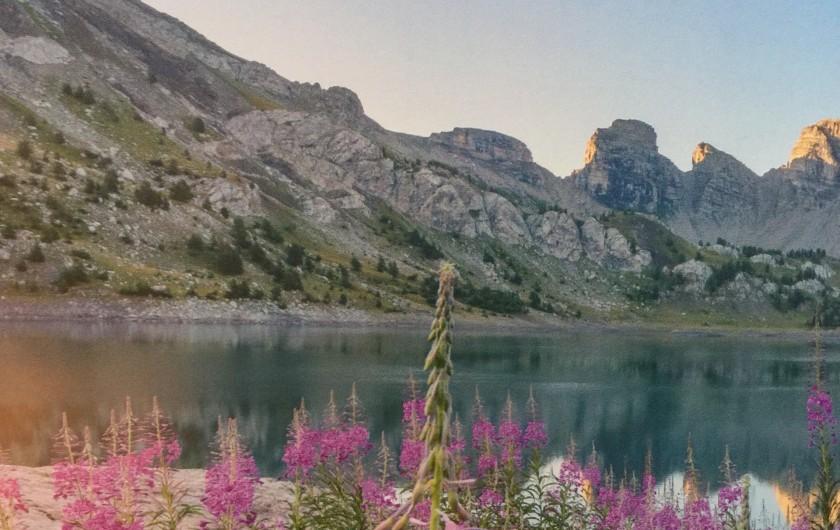Location de vacances - Chalet à Allos - LAC GLACIAIRE D'ALLOS