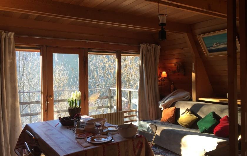 Location de vacances - Chalet à Allos - LIVING ROOM