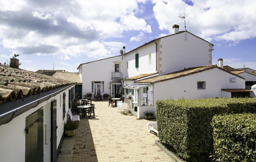 Location de vacances - Maison - Villa à Sainte-Marie-de-Ré - Le Petit Village - cour