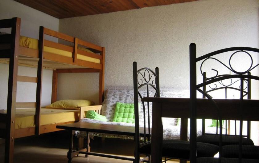 Location de vacances - Gîte à Saint-Paul - Séjour maison T2