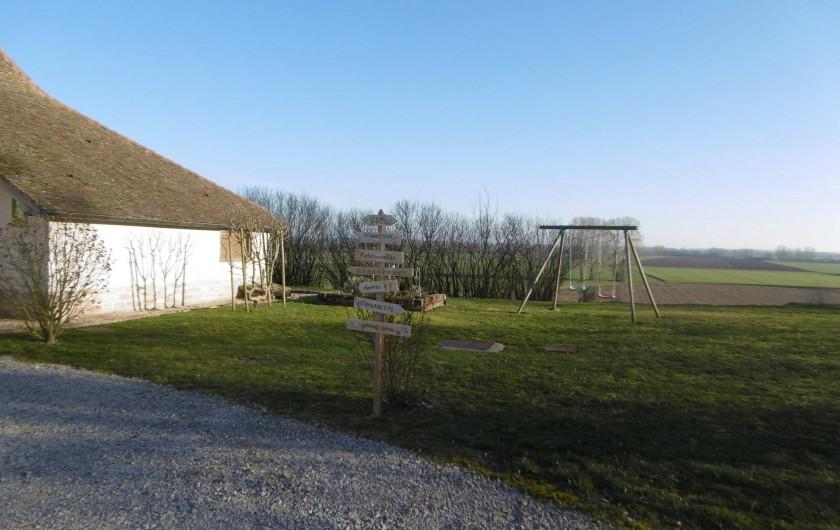 Location de vacances - Gîte à Pourlans - Arrivée au gîte